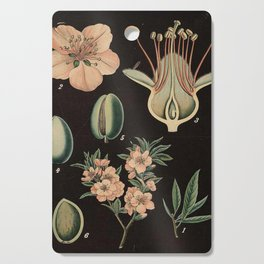 Botanical Almond Cutting Board