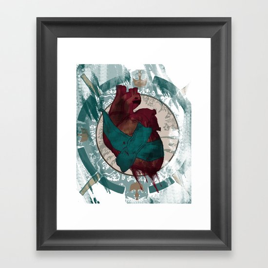 Can We Fix It With Duct Tape? Framed Art Print