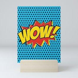 Wow! Mini Art Print