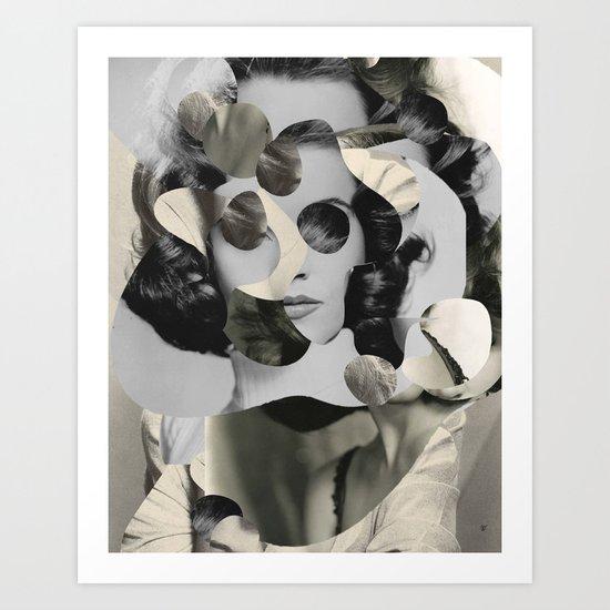 Jane Mix 3 Art Print