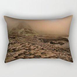 When the sun is going down Rectangular Pillow
