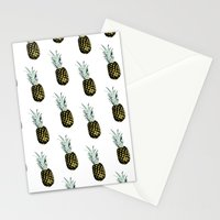 Take my pineapple! Pattern :) Stationery Cards