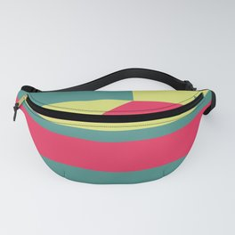 Geo With Red #geometric #Society6 #buyart Fanny Pack
