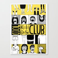Cool Kids Club Canvas Print