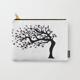 Tree Birds x2 Carry-All Pouch