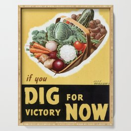 Dig For Victory Serving Tray