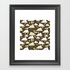 Dim Sum At Dawn Framed Art Print