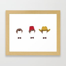 Doctor Who's Guide To Being Cool Framed Art Print
