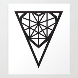 Chzld Heart - Design Art Print