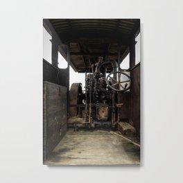 Wheelhouse Metal Print