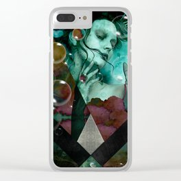 """""""The witch of the water forest"""" Clear iPhone Case"""