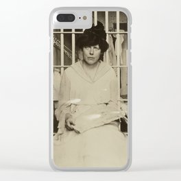 Suffragist Lucy Burns Jailed in Occoquan Workhouse, 1917 Clear iPhone Case
