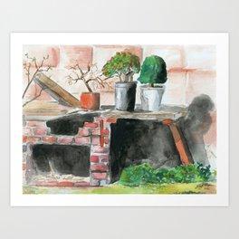 Projects Art Print