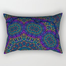 Mysterious Lace  Rectangular Pillow