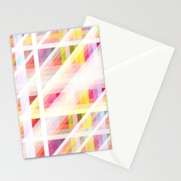 colorful threedimensional retro redcap Stationery Cards