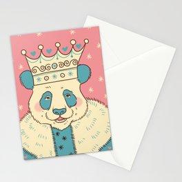 Panda King Stationery Cards