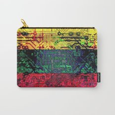 circuit board  lithuania (flag) Carry-All Pouch