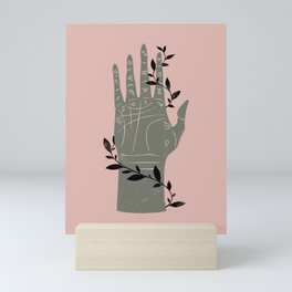 The Palmistry Hand Mini Art Print