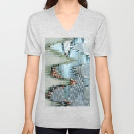 Nude on a Stair Unisex V-Neck