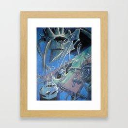 necro Framed Art Print