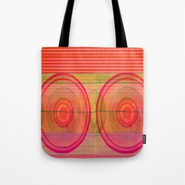 double pink Tote Bag