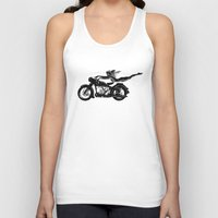 nirvana Tank Tops featuring Nirvana by William Michael