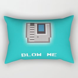 Nintendo Cartridge Blow Rectangular Pillow