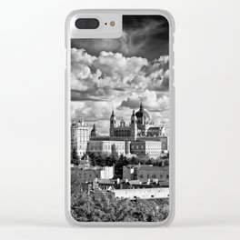 MADRID 04 Clear iPhone Case