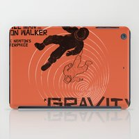 gravity iPad Cases featuring GRAVITY by Resistance