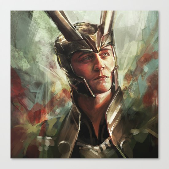 The Prince of Asgard Canvas Print