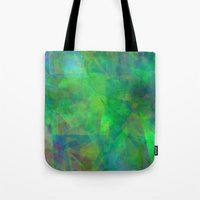 emerald Tote Bags featuring Emerald  by Christy Leigh