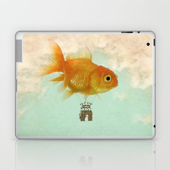 balloon fish 03 Laptop & iPad Skin