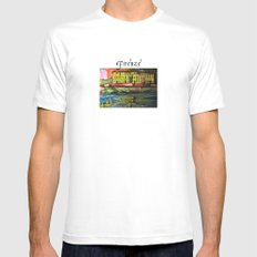 Evening in Firenze Mens Fitted Tee White MEDIUM