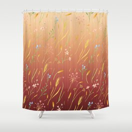 Dancing Grass in the Gentle Breeze Shower Curtain