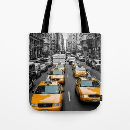 New Yorks Yellow Army 3 Tote Bag