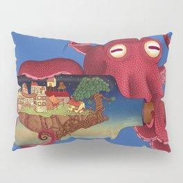 World in bottle: Atalantis (Octopus - monster) Pillow Sham