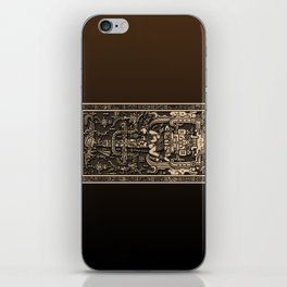 Sala Tumba de Pakal iPhone Skin