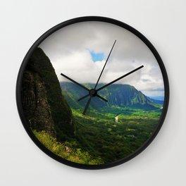 Pali lookout Wall Clock