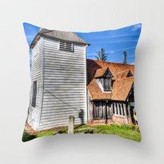 Greenstead Church Ongar Throw Pillow