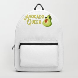 Avocado Queen Avocado Lover Backpack
