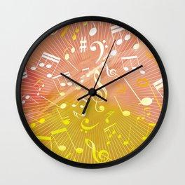 Musical Notes VI Wall Clock
