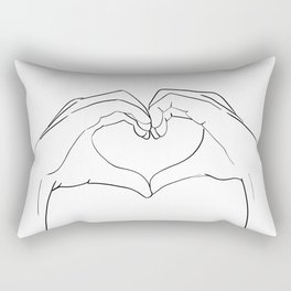 cœur Rectangular Pillow