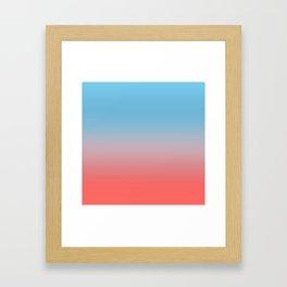 Sunrise Ombre Framed Art Print