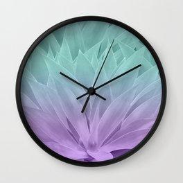 Agave Ocean Dream #2 #tropical #decor #art #society6 Wall Clock