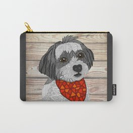 Max the Havanese Carry-All Pouch