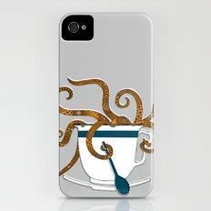 Octopus in a Teacup iPhone (4, 4s) Slim Case