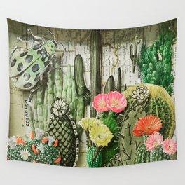 Cacti Garden Wall Tapestry
