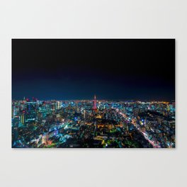 Roppongi View Canvas Print