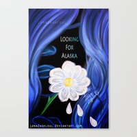 looking for alaska Canvas Prints featuring Looking For Alaska  by Lunah