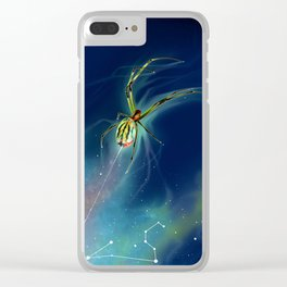 World Weaver Clear iPhone Case